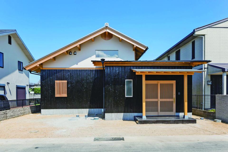 焼杉(2回塗り塗装)外装用・軒下天井用